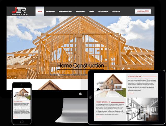 General Contractor Website Design In San Jose Ca Jgr Construction